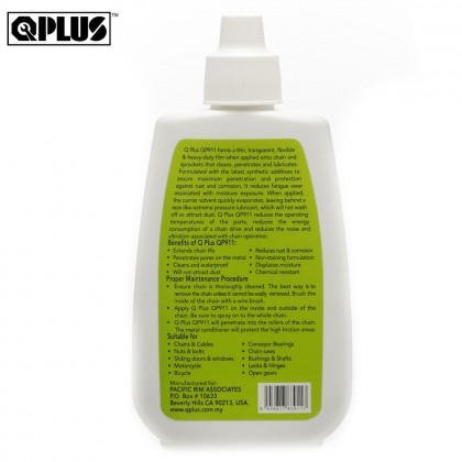 QPLUS QP911 CHAIN LUBE/ DRY LUBE/ OIL LUBRICANT FOR MOTORCYCLE & BICYCLE  (80G)