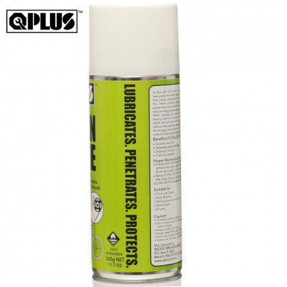QPLUS QP912 CHAIN LUBE FOR MOTORCYCLE & BICYCLE (300G)